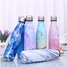 500ml Water Bottle BPA free Insulated Cup Portable Travel Outdoor Sport Thermos Double Wall Stainless Steel Vacuum