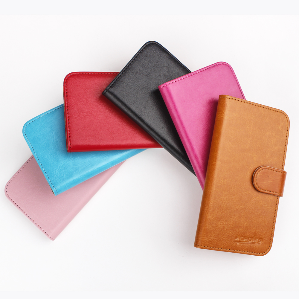 OWN Smart 8 Case 6 Colors Dedicated Leather Exclusive Special Crazy Horse Phone Cover Cases Credit Wallet Tracking in Flip Cases from Cellphones Telecommunications