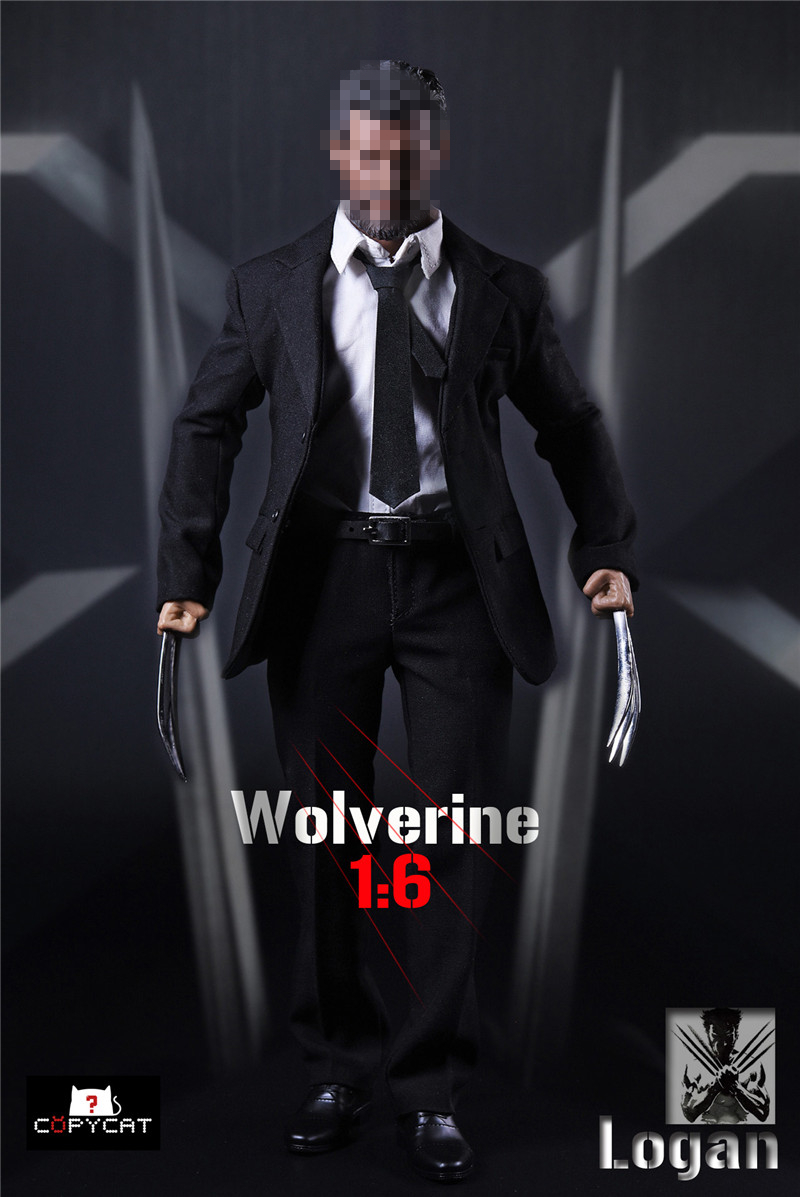 1/6 scale figure accessories male Wolverine Logan Clothing with claw for 12 Action figure doll,Not included body,head and other 1 6 scale nude male body figure muscle man soldier model toys for 12 action figure doll accessories