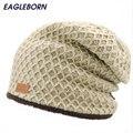 Простой стиль зимние мужские шляпы snapback руно beanies для мужчин открытый согреться трикотажные skullies & шапочки утолщаются touca csasquette