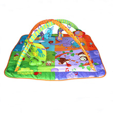 Playmat developing rug musical gym mat play toys children baby