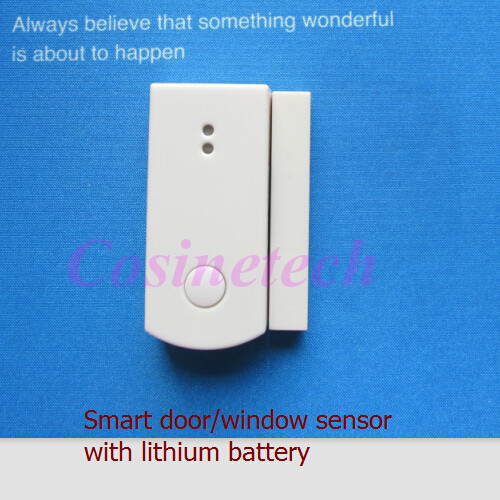 2 PCS 868MHZ Door Window Magnetic Sensors,optional 433mhz 1527 Door Magnet Contact Alarm For Our 868MHZ 433MHZ Alarm System