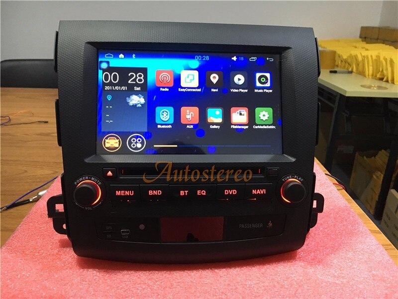 ZWNAV 8 Core 4 + 32 gb Android 8.0 Autoradio Écran DVD GPS Pour Mitsubishi Outlander 2006-2012 citroen C-crosser Peugeot 4007