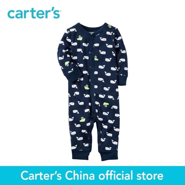 e26c8034256c Carter s 1pcs baby children kids Cotton Snap Up Footless Sleep ...