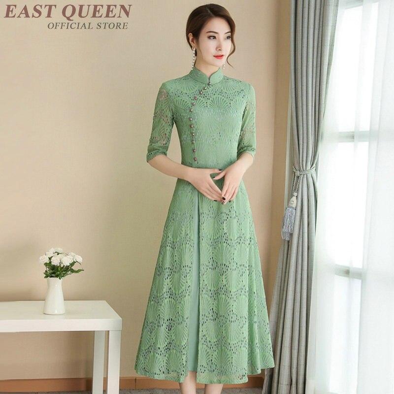 Chinese dress cheongsam qipao orienal dress China traditional Chinese clothing for women modern chinese dress qi pao FF1000