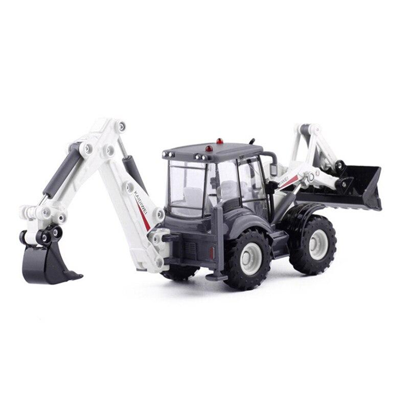 Two-way Shovel Excavator Kids Toy Car Model Truck Gift