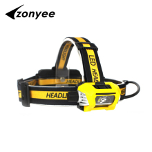 Zonyee Headlights Headlamp Fishing Lamp Waterproof 18650 Rechargeable Battery  Led Head Lamp Bicycle Camping Hiking Light