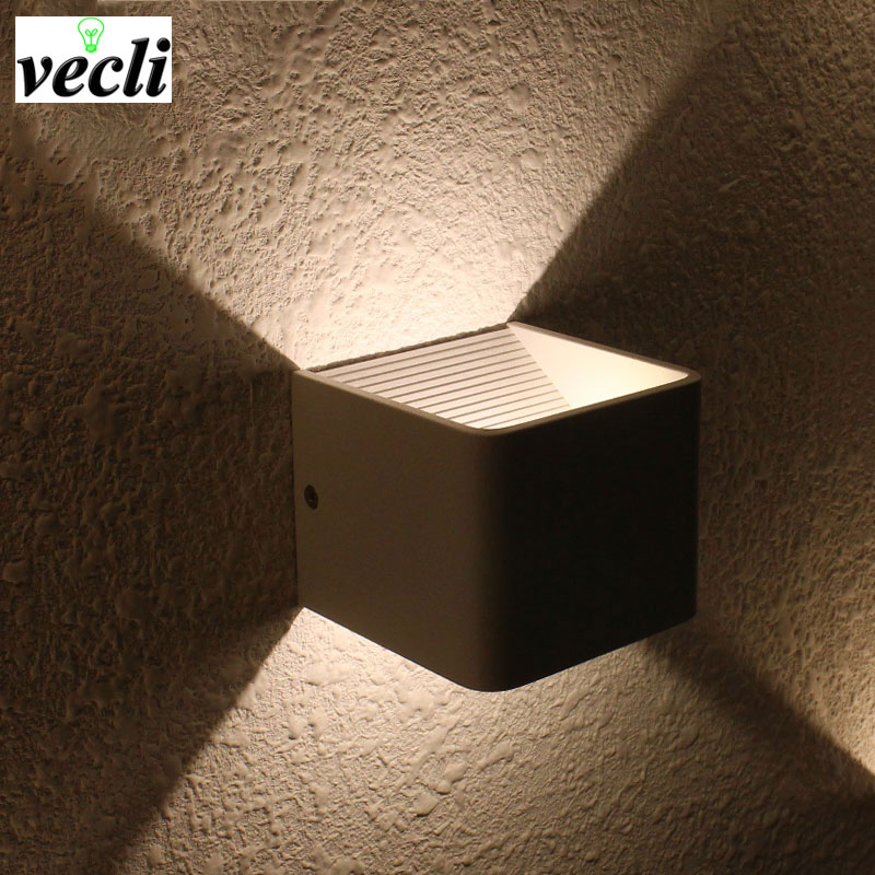 Modernās modes viesnīcu projektu apdares sienas lampas, 3w iekštelpu guļamistabas gultas ejas kāpņu dzīvojamā istaba TV fona LED lampas