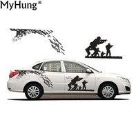 Car Styling For Hyundai Elantra Waterproof PVC Car Sticker Car Whole Body Decoration Hot Sale Stickers 2Pcs Car Accessories