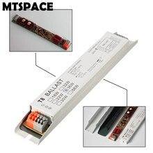 MTSPACE Высокое качество 220-240 В переменного тока 36 Вт широкое напряжение T8 электронный балласт люминесцентные балласты для ламп