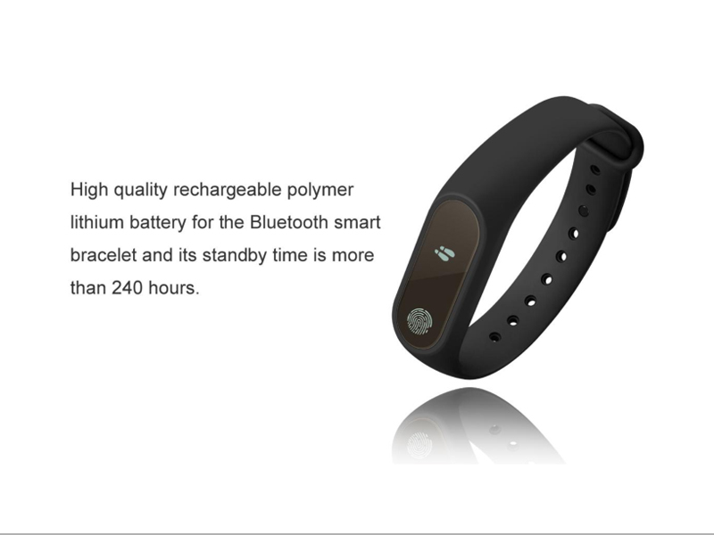 Image 4 - fitness bracelet smart wristband for samsung xiaomi huawei heart rate fitness tracker  waterproof sport smart band english Version-in Smart Wristbands from Consumer Electronics