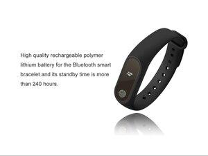 Image 4 - Фитнес браслет умный Браслет для samsung xiaomi huawei фитнес трекер для измерения сердечного ритма водонепроницаемый спортивный смарт браслет английская версия