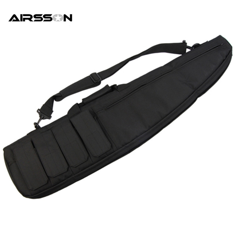 цена на Airsson Waterfroof Tactical Holsters Gun Bag Case Air Rifle Case Shoulder Pouch Hunting Carry Bags Long Gun Protection Carrier
