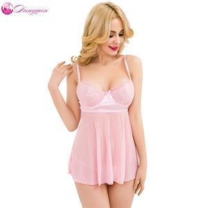 d7b1627b8 Lace Sexy Cute Dress Underwear Sleepwear Babydoll Lingerie