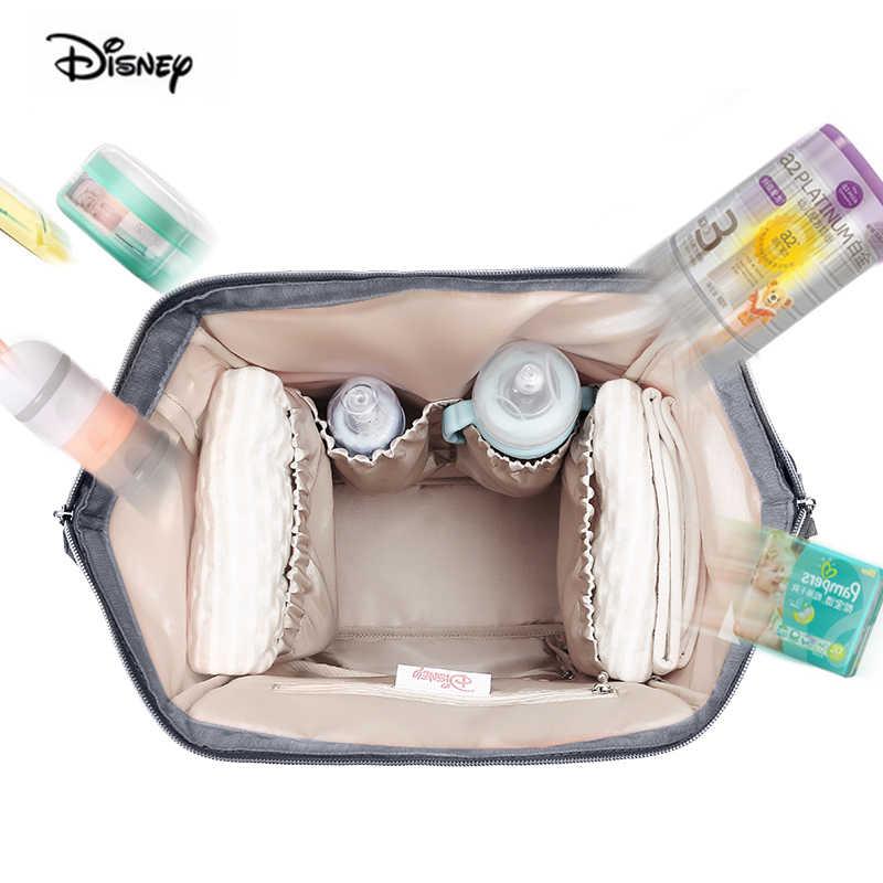 Mochila de maternidad multifuncional para bebé, mochila para bebé, con aislante, calentador USB
