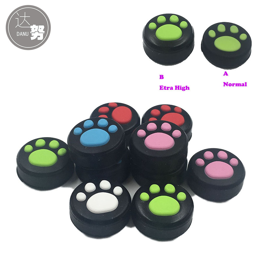 500PCS 250Pairs For Switch Joy Con Controller Joystick Thumbsticks Extended Cap Grip Cover