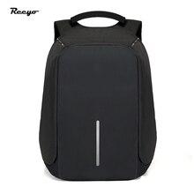 Neue Intelligente Lade Männer Frauen Rucksack für 15,6 zoll Laptop Große Kapazität Casual Stil Schultaschen Wasserabweisend Stoßfest Tasche