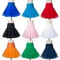 Free In Stock Short Organza Crinoline Vintage Wedding Bridal Petticoat for Wedding Dresses Underskirt Rockabilly Tutu