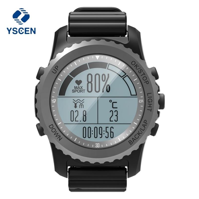 Здесь продается  YSCEN S968 Sport Smart Watch IP68 Waterproof Sleep Heart Rate Monitor Barometer Thermometer Altimeter Pedometer GPS Smart Watch  Бытовая электроника