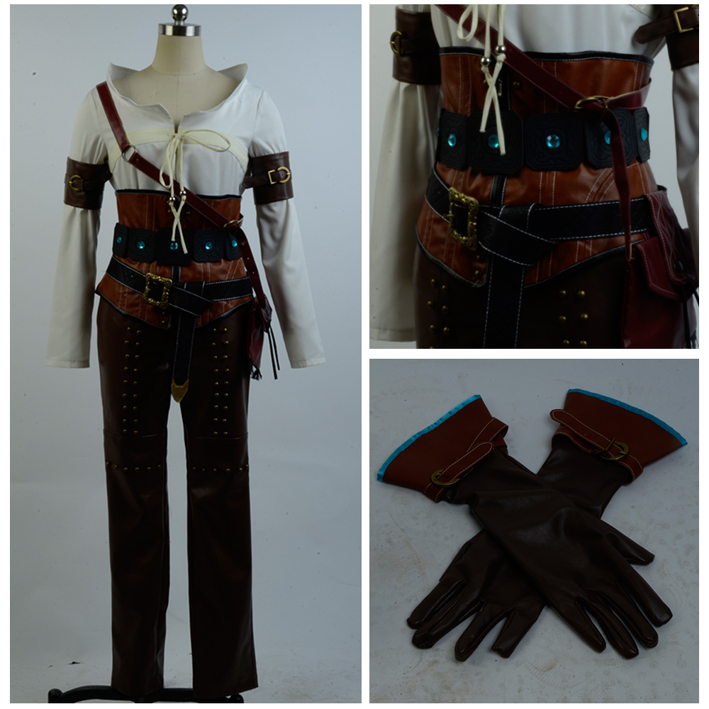 The Witcher 3 Cosplay costume Wild Hunt Cirilla Fiona Elen Ciri Cosplay  Costume Outfit Suit For Adult Women - buy at the price of $85.00 in  aliexpress.com | imall.com