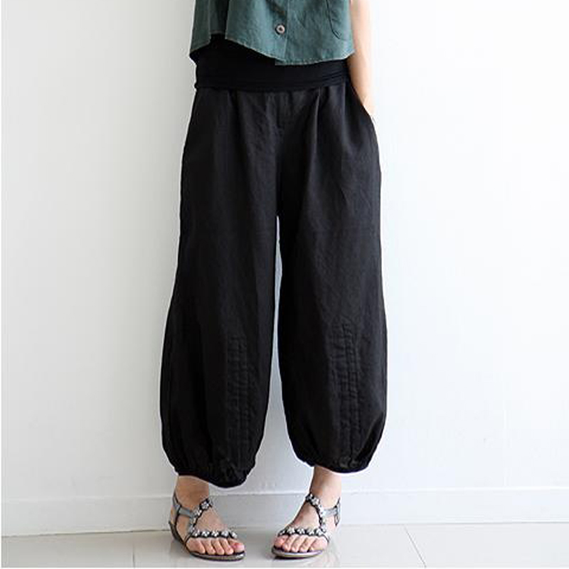 Black Pleated Pants Promotion-Shop for Promotional Black Pleated ...