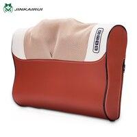 JinKaiRui Infrared Heating Household Neck Cervical Massager Waist Back Body Multifunctional Electric Massage Pillow Relaxation