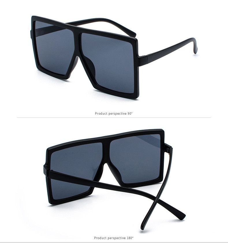 bcc62783d8 Imwete Oversized Square Sunglasses Women Vintage Brand Designer Gradient  Lens Shades Sun Glasses Men Big Frame Hip-hop Glasses. MM1 Produc display  20 22 23 ...