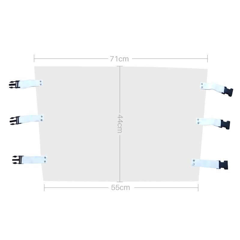 1 шт. стоматологический стул коврик для ног пластиковый пылезащитный чехол прозрачный стоматологический коврик подушка сиденье прозрачный протектор с эластичными лентами