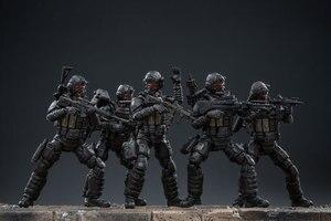 Image 3 - JOYTOY 1:18 figurines action US armée aéroportée Corps soldat figure modèle jouets pour enfant cadeau livraison gratuite