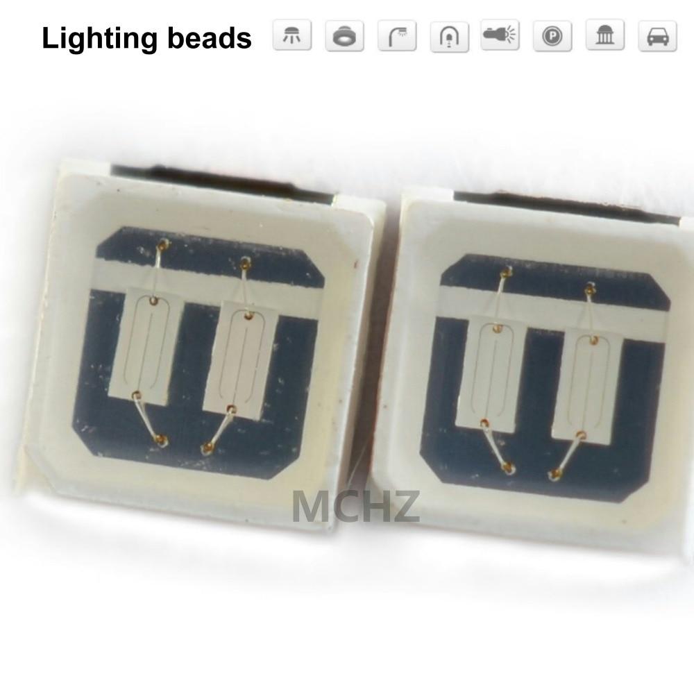 200 pièces 3030 SMD/SMT LED bleu SMD 3030 LED montage en saillie bleu 3 V ~ 3.6 V 460-465nm Ultra Birght diode LED puce 3030 bleu
