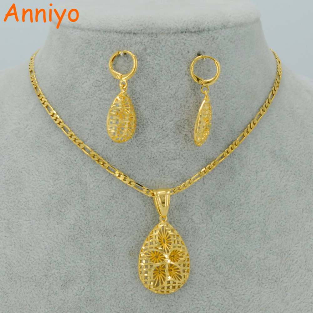 Anniyo Saudi Arabia Sets Necklace