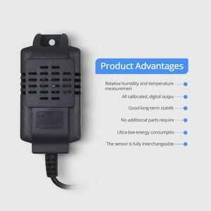 Image 4 - Sonoff TH10/TH16 SI7021 湿度センサースイッチワイヤレスプローブ温度モニタ監視 wifi スマートホームリモコン