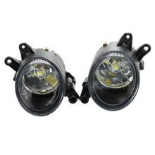 2 шт Автомобильный светодиодный светильник для Audi A4 RS4 B6 2001 2002 2003 2004 2005 спереди светодиодный туман светильник противотуманных фар с лампами накаливания