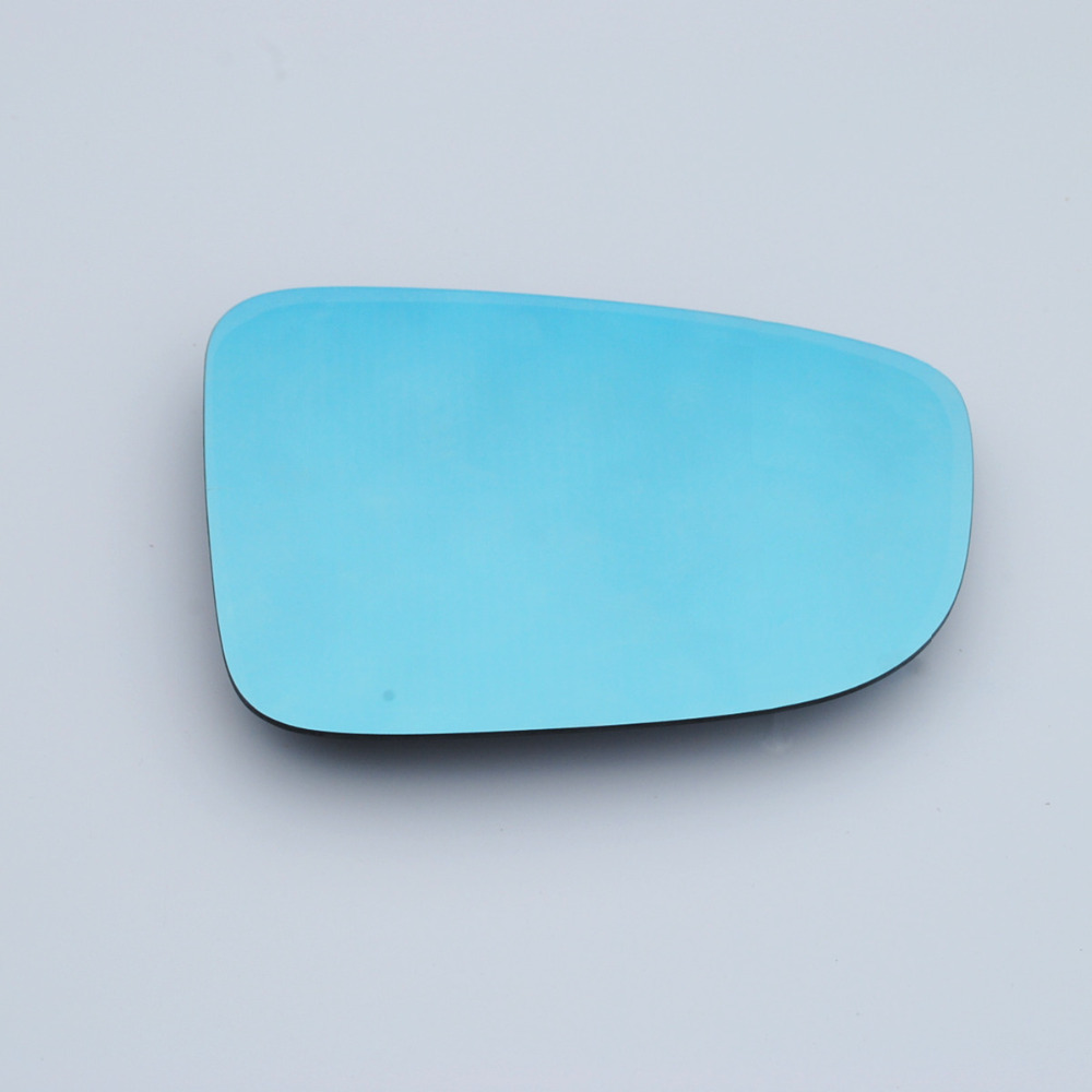 Savanini Brand New Power Heated Blue Wide Angle Sight Side Rear View Mirror Glasses For Mazda 3 Axela