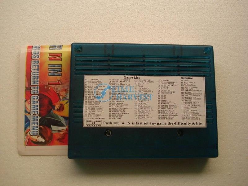 Neo Geo Jamma 120 In 1 SNK MVS Catridge Game Board Game PCB for Arcade Game