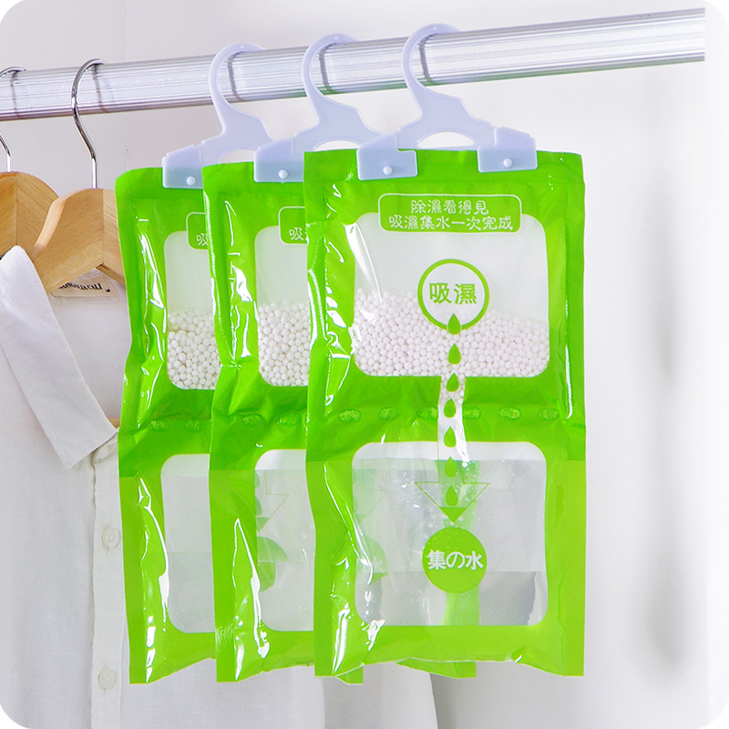 2019 Hot Sale Time-limited Wardrobe Dehumidifying Agent Hangable Hygroscopic Indoor Moisture Repellent Household Desiccant Bag