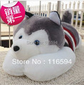 Y49 free shipping 1M huge Husky dog plush stuffed toy dog Large wedding gift