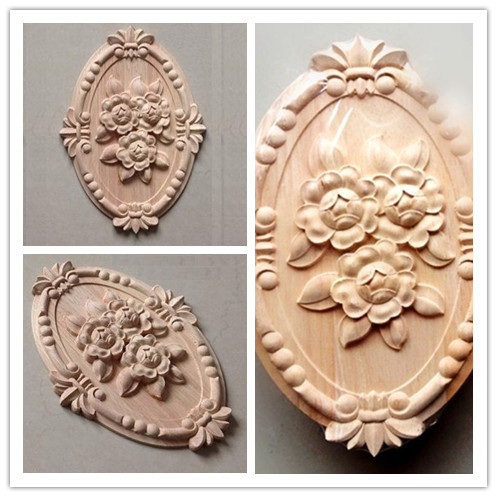 Dongyang Wood Carving Fashion Solid Wood Carved Eggs Motif