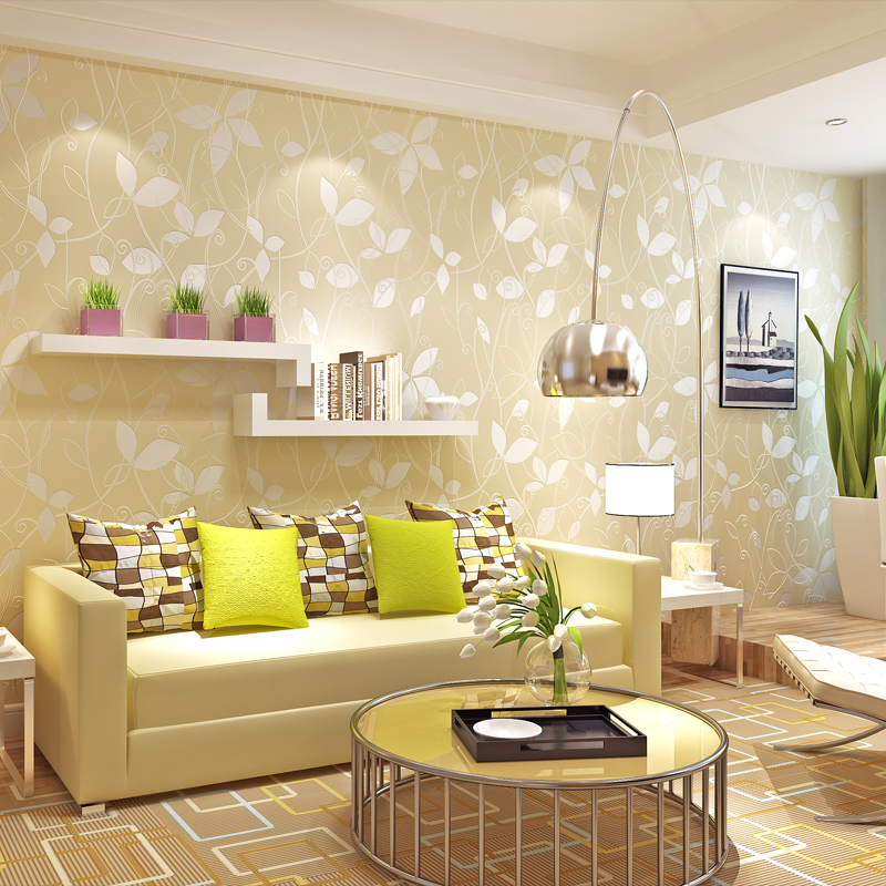 Time-limited Photo Wallpaper Papier Peint Paysota 3d Leaves Non-woven Wallpaper Bedroom Living Room Background Wall Paper papier peint papel pintado paysota children room wallpaper lovely stars boy and girl bedroom environmental non woven wall paper