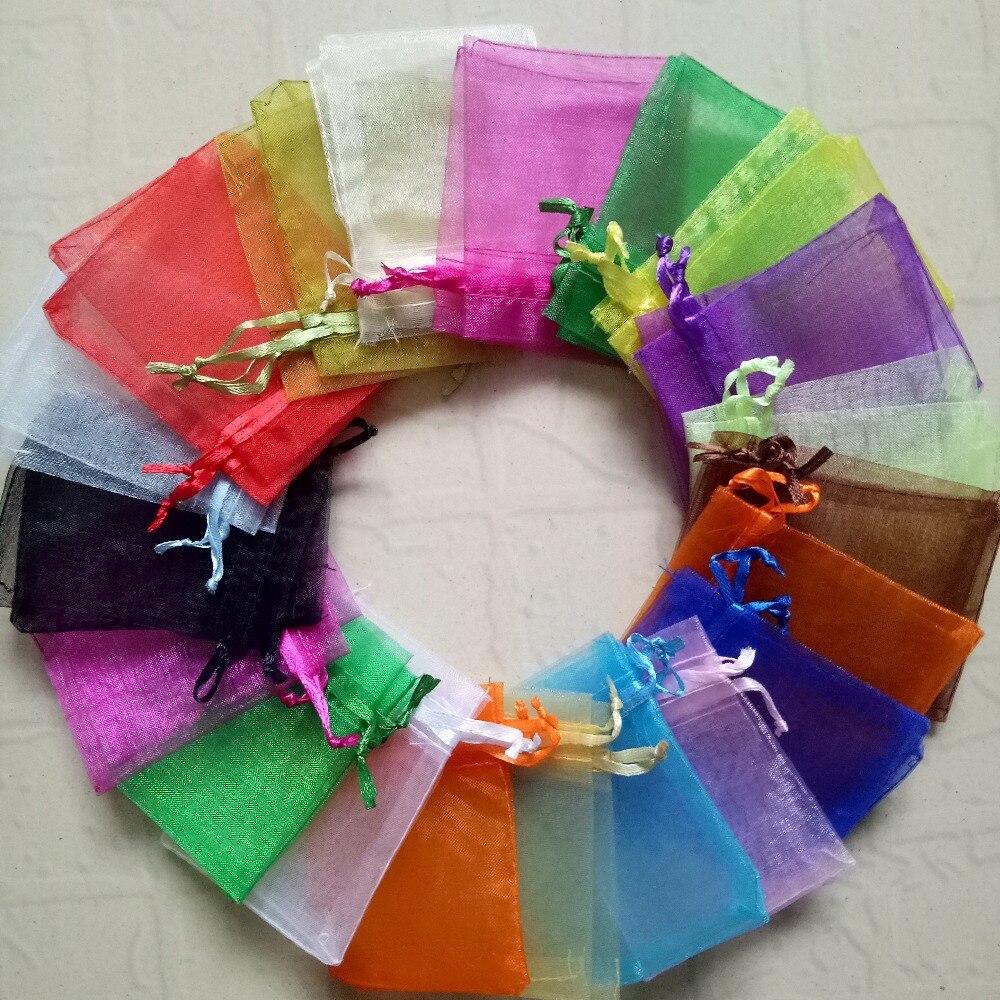 ขายส่ง1000ชิ้นD Rawable Organzaกระเป๋าD Rawstringกระเป๋าจัดงานแต่งงานของขวัญคริสมาสต์ปาร์ตี้แสดงผลบรรจุภัณฑ์ถุงถุงเก็บ-ใน บรรจุภัณฑ์อัญมณีและที่ตั้งโชว์ จาก อัญมณีและเครื่องประดับ บน   1