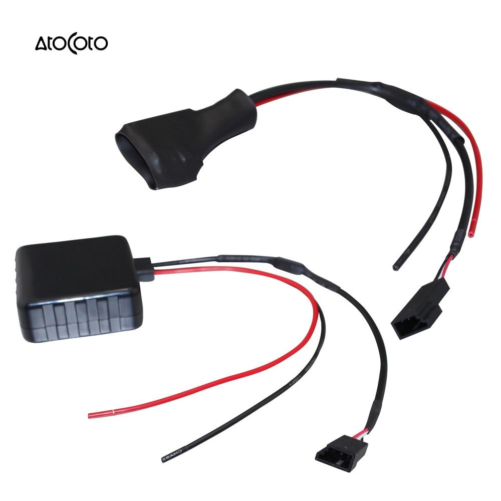 Car bluetooth module for bmw e39 e46 e38 e53 x5 radio stereo aux cable adapter with