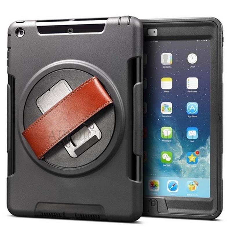 מארז קשיח כבד קשיח עבור מגן אייפוד עם כיסוי מגע עם מגן מסך מגע מחזיק מעמד עבור iPad 5