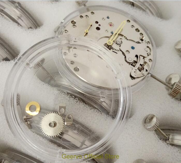 GEERVO 17 jewels mechanical 6497 hand-winding Movements fit for Men's watch jx01a