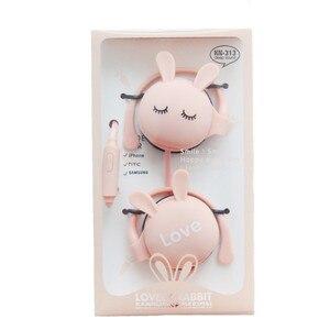 Image 1 - Auriculares con gancho para orejas de gato, 3,5mm, para música, con micrófono, para Xiaomi, Iphone, Huawei, MP3, regalo para hija