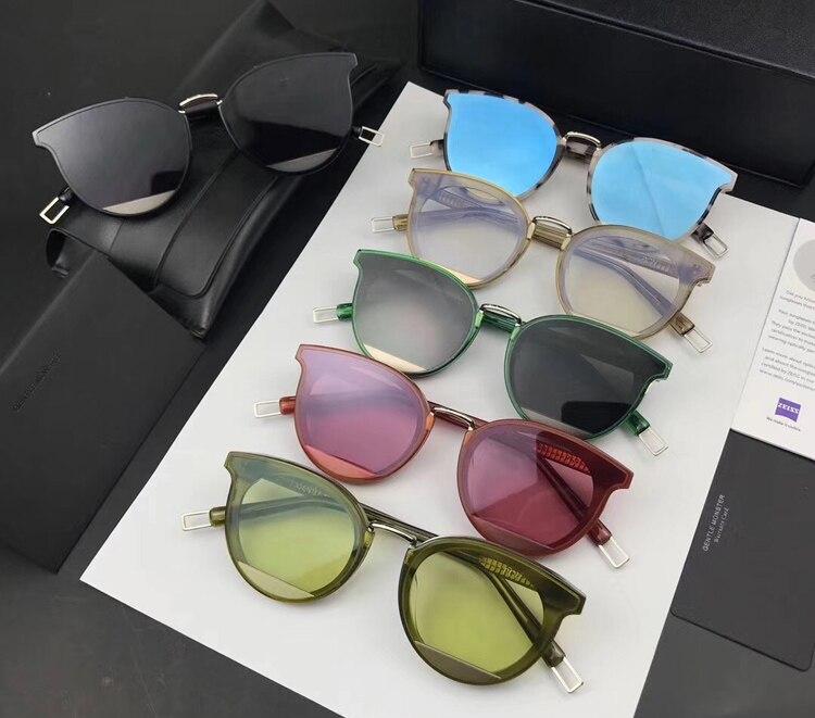 2018 Luxury Gentle Brand PCH and V logo Designer Fashion Unisex Sun Glasses Mirror Sunglasses Round Male Eyewear For Men/Women feidu 2015 brand designer high quality metal sunglasses women men mirror coating лен sun glasses unisex gafas de sol