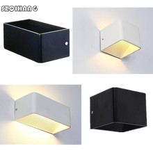 Decoration Light Cube Indoor Surface-Mounted Garden-Porch-Sconce Dimmable Modern AC85-265V