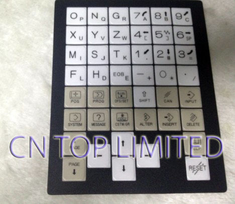 New numerical control machine operation panel Keypad Membrane  for FANUC A02B-0309-K710/T/OI-MD new membrane keypad operation panel button mask for mp270 6av6542 0ac15 2ax0