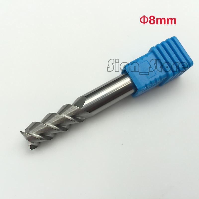 5pcs 14mm Three Flute HSS Aluminium End Mill Cutter CNC Bit