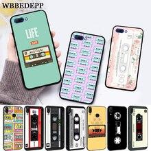 WEBBEDEPP retro classic cassette Design Silicone Case for Huawei honor 6A 7A Pro 7X 8 Lite 8X 8C 9 9X Note 10 View 20