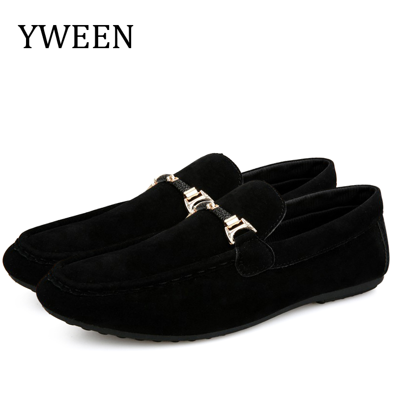 YWEEN New Spring Autumn Men Shoes Comfortable Slip-On Loafers Fashion Casual Flats Wholesale